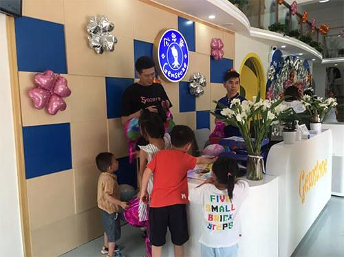 广州增城体验中心吧台