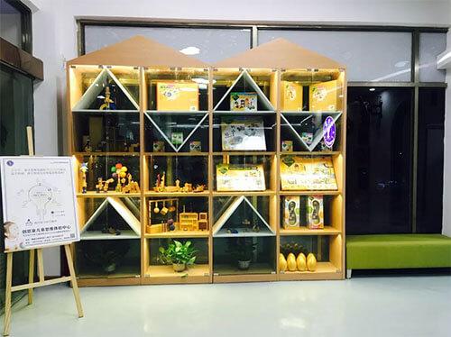 广州增城体验中心书架